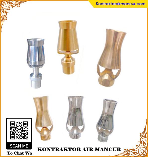 Nozzle air mancur ice tower berkualitas terbaik di surabaya