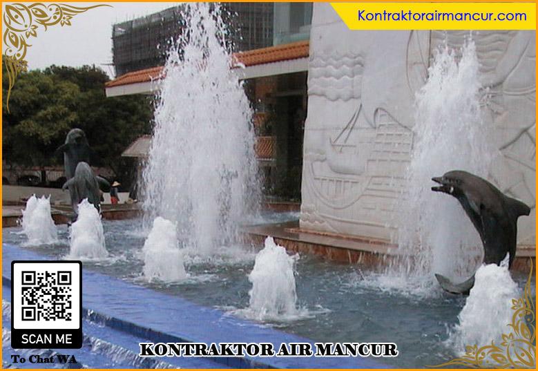 Pengaplikasian Nozzle Foam air mancur murah